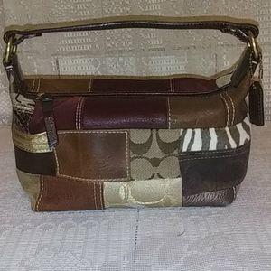 Small Authentic COACH handbag